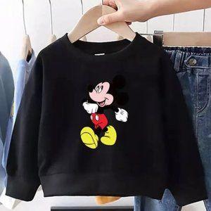 Mickey Mouse Black Sweatshirt size 5t